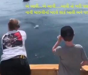 આ પરિવાર માછલી પકડવા ગયો ત્યાં એવું થયું કે દિવસે તારા દેખાયા, જુઓ VIDEO