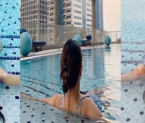 ટીવીની 'નાગિન' બિકીની પહેરીને પૂલમાં રિલેક્સ થતી હતી, PHOTOS થઈ ગયાં વાયરલ