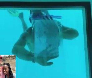 ગર્લફ્રેન્ડને ઊંડા પાણીમાં કરી રહ્યો હતો પ્રપોઝ, મોતના Live દ્રશ્યો કેમેરામાં કેદ