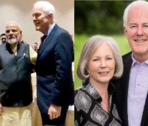 Video: …અને PM મોદીએ અમેરિકાના સાંસદની પત્નીની જાહેરમાં માંગી માફી