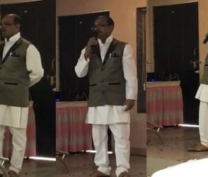જૂનાગઢમાં ગીત ગાતાં નિવૃત્ત કોન્સ્ટેબલને આવ્યો હાર્ટ એટેક, જુઓ મોતનો LIVE વીડિયો