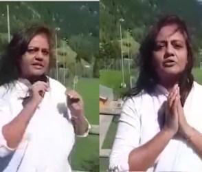 કાઠિયાવાડી મહિલાએ સ્વિત્ઝરલેન્ડમાં બેેસીને બધાના માથા ધુણાવી નાખ્યાં, ગુજરાતી ખાસ જુઓ આ VIDEO