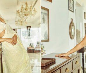 'બાલા' અભિનેત્રી ભૂમિ પેડનેકરે સાડીમાં દેખાડી પોતાની હોટ અદા, જુઓ તસવીરો