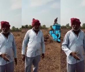હું ભીખ નથી માગતો, તમે ખેડૂત પાસે ભીખ માગો છો, જુઓ જામનગરનાં ખેડૂતનો Video