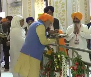 કરતારપુર કોરિડોરનું આજે ઉદ્ઘાટન, PM મોદીએ બેર સાહિબ ગુરુદ્વારામાં માથું નમાવી કર્યા દર્શન