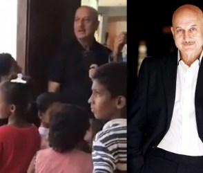 VIDEO: આને કહેવાય અસલી હીરો, અનુપમ ખેરે ફૂટપાથનાં બાળકોને ફાઈવ સ્ટાર હોટલમાં જમાડ્યાં
