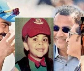 ભારતીય ક્રિકેટ ટીમના ધુરંધરો બાળપણમાં દેખાતા હતા આવા, PHOTOSમાં જુઓ ટેણિયાઓની ટીમ
