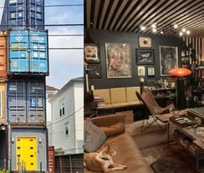 PHOTOS: અદ્ભુત ટેલેન્ટ! કન્ટેનરમાંથી બનાવ્યું 3 માળનું મકાન, વાવાઝોડું પણ કંઈ ન ઉકાળી શકે