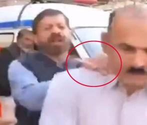 લાઇવ ટીવી પર પાકિસ્તાની રિપોર્ટર સામે આવી ગયો શખ્સ, ગરદન પકડીને ધસેડી મૂક્યો