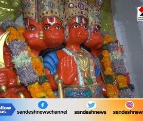 હનુમાનજીએ શનિદેવને ભણાવ્યો પાઠ, Video