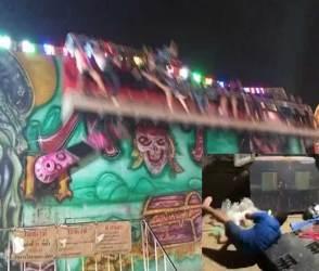 VIDEO: પાર્કમાં ધબકારા વધારનારી ઘટના બની, રાઈડમાં ખામીના કારણે માણસોના છુટ્ટા ઘા થયા!