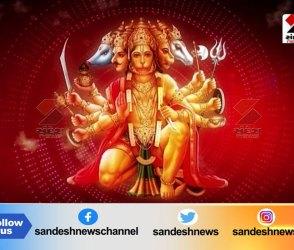 દર્શન કરો અમદાવાદના વિરમગામમાં આવેલ પંચમુખી હનુમાનજીના, Video