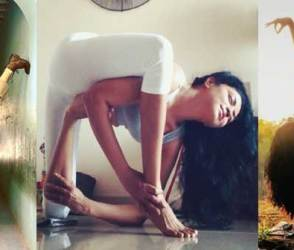 PHOTOS: 39 વર્ષની 'ઈન્સ્પેક્ટર'ના બિકિની યોગા જોઈ ફેન્સ બોલ્યાં-બાબા રામદેવને પછાડી દેશે