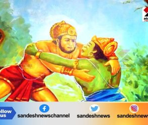 શ્રી રામ ભક્ત હનુમાને બાલીના અહંકારનો કર્યો નાશ,Video