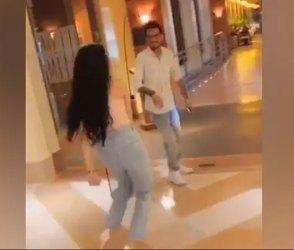 સુંદર યુવતીએ નજીક આવીને કર્યો એવો ડાંસ કે ઉભી પૂંછડીયે ભાગ્યો ક્રિકેટર, Video