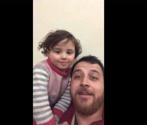 આને કહેવાય સાચો પિતા, બોમ્બ વિસ્ફોટો વચ્ચે પણ દિકરી માટે અદા કરી પોતાની ફરજ… Video