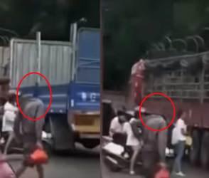 VIDEO: આંખ પલકારો મારવાનું ભૂલી જશે, માથાં વગરનો માણસ જાહેર રસ્તા પર હરતો-ફરતો દેખાયો