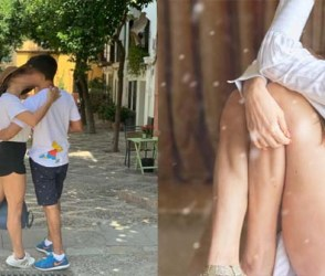 પતિ સાથે રોમાંટિક થઈ આ જાણીતી એક્ટ્રેસ! રસ્તા વચ્ચે જ કરી દીધી KISS…જુઓ વાયરલ Photos