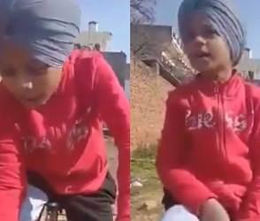 કોરોનાના લોકડાઉન વચ્ચે લાખો લોકો આ પાઘડીવાળા બાળકનાં ફેન થઈ ગયા! ધડાધડ વીડિયો વાયરલ