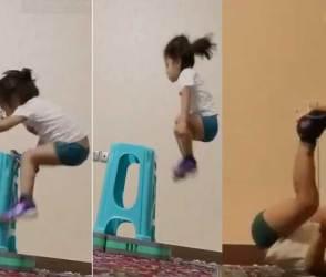 શાનદાર VIDEO: 'ઓહ માઁ, મારાથી આ નહીં થાય' કહીને બેસી જતાં ઢીલા-પોચા લોકો ખાસ જુઓ