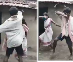 VIDEO: આ પતિ-પત્નીનો દેશી ડાન્સ જોઈ લોકો મોજમાં આવી ગયા, કહ્યું-આને કહેવાય અસલી પ્યાર