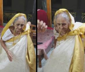 93 વર્ષના દાદીનો ડાન્સ વીડિયો જોઈ લોકો હરખાઈ ગયા, જોઈને તમને પણ નાચવાનું મન થશે!