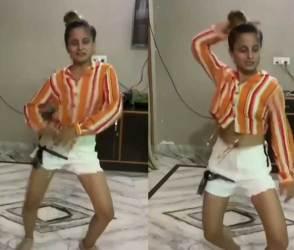 આ યુવતીએ જે જુસ્સા સાથે ડાન્સ કર્યો, જોઈને ઈન્ટરનેટ ફિદા થઈ ગયું! વીડિયો ધડાધડ વાયરલ