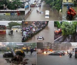 મુંબઈમાં વરસાદે મચાવ્યો કહેર, તમે પણ દ્રશ્યો જોઈને થઈ જશો સ્તબ્ધ