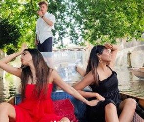 નદીમાં હોડી પર સવાર થઇ મૌની રોયે કરી ધમાલ મસ્તી, ડાન્સ કરતો વીડિયો થયો વાયરલ