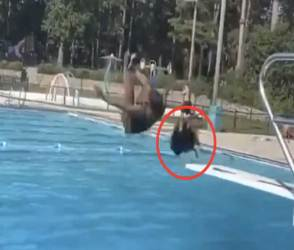 VIDEO: ના પાડી છતાં યુવતીએ પાણીમાં કૂદકો માર્યો, પછી એવું બન્યું જેની કોઈને આશા નહીં હોય!