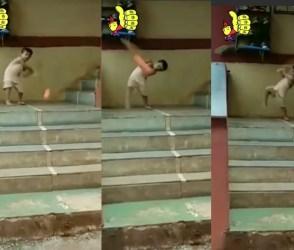 VIDEO: 'જૂનિયર ક્રિસ ગેઈલ', દરેક બોલ પર માર્યા એવાં શોટ્સ કે યુવરાજની 6 બોલ પર 6 સિક્સને ભૂલી જશો