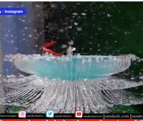 ViralVideo : બલુનનો સ્લો મોશન વીડિયો સોશિયલ મીડિયામાં થયો વાયરલ, શું નજારો છે..
