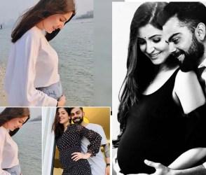 અનુષ્કા શર્માએ બેબી બંપના ફોટો કર્યા શેર, વિરાટે કહ્યું 'મારી આખી દૂનિયા એક ફ્રેમમાં'