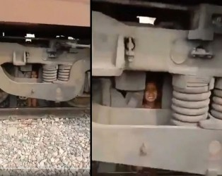 VIDEO: રેલવે ટ્રેક પર બે વર્ષનું બાળક જોઈ તરત ડ્રાઈવરે બ્રેક મારી, છતાં એન્જિન નીચે આવી ગયું અને…