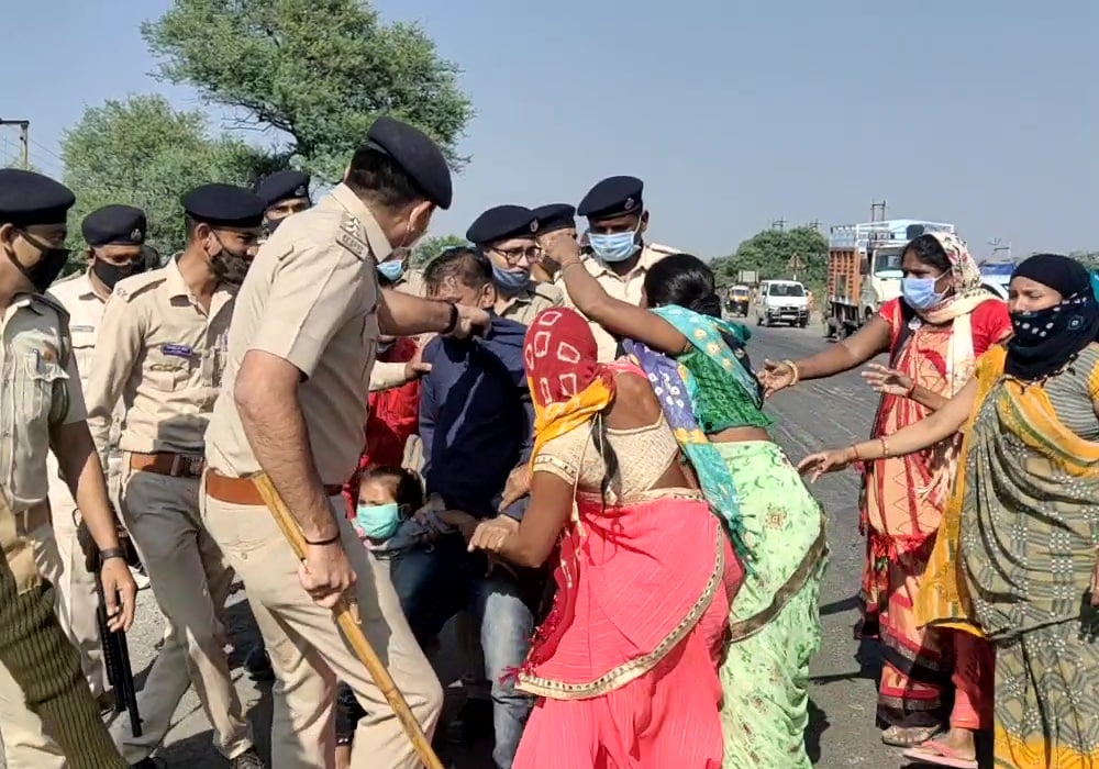 Villagers near Dahej UPL plant clash with police over illegal water connection