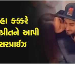 VIRAL VIDEO : રોહનપ્રીત સિંહના બર્થ ડે ઉપર તેની પત્ની નેહા કક્કરે આપી સુંદર સરપ્રાઈઝ