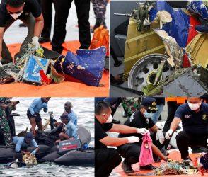 ઈંડોનેશિયામાં વિમાન ક્રેશ થયા પછી મળી આવ્યા વિમાનના ટુકડા અને માનવ અવશેષો, જુઓ PHOTOS