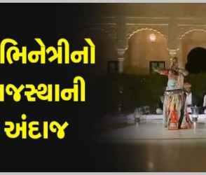 અભિનેત્રી કૃતિ સેનને જેસલમેરમાં રાજસ્થાની સોંગ ઉપર કર્યો સુપર ડુપર ડાન્સ, જુઓ VIDEO