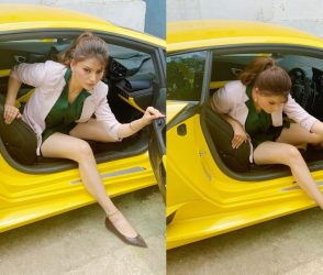 ઉર્વશી રૌતેલા આલિશાન કારમાંથી ઉતરતી વખતે બરોબરની ફસાઈ ગઈ, ફોટો થયા વાયરલ