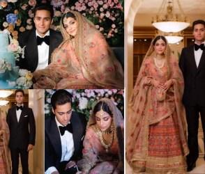 પાક.ના પૂર્વ PM શરીફના પરિવારની વહુએ લગ્નમાં પહેર્યો કરોડોનો લહેંગો