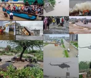 ગુજરાતના હાલ થયા બેહાલ, ભારે વરસાદના પગલે સર્વત્ર વિનાશ, Photos જોઈને તમે પણ ચોંકી જશો