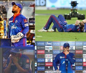 દિલ્હીનું સપનું તુટી પડતા ખેલાડીઓ ધ્રુસકેને ધ્રુસકે રડી પડ્યા, જુઓ Photos