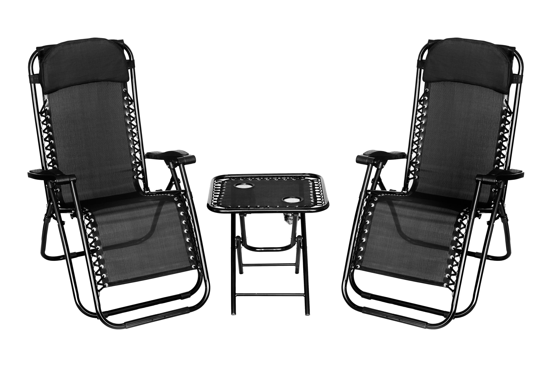 reclining deck chair asda round swivel lounge folding gravity sun lounger recliner garden bed