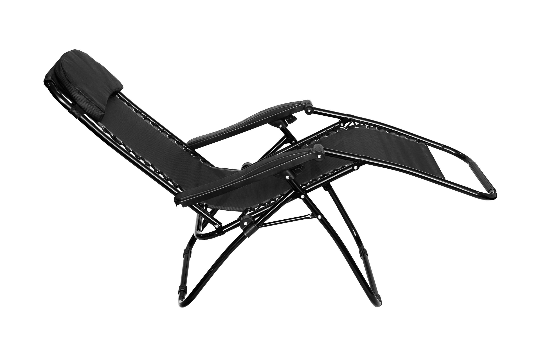 reclining deck chair asda kids barber folding gravity sun lounger recliner garden