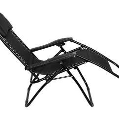 Reclining Deck Chair Asda Design Solidworks Folding Gravity Sun Lounger Recliner Garden