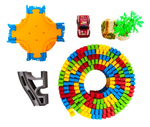 small resolution of flexible variable light up race track set 257 children kids car racing fun music