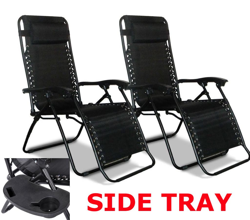 reclining deck chair asda bedroom pakistan folding gravity sun lounger recliner garden bed