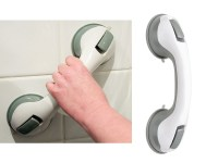 SUPPORT GRAB HANDLE SUCTION CUP GRAB BATH SHOWER ...