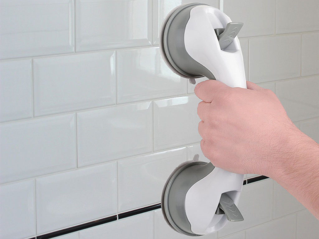 SUPPORT GRAB HANDLE SUCTION CUP GRAB BATH SHOWER