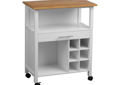 Kitchen Carts On Wheels With Drawers